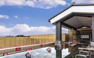 国立温泉湯楽の里の露天風呂