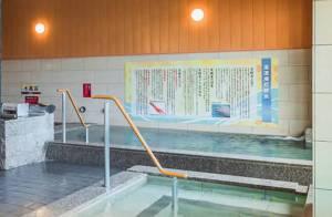 国立温泉湯楽の里の高濃度炭酸泉